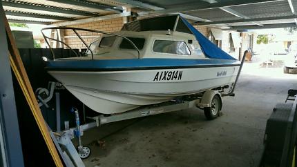 Seagull mk2 cabin cruiser and trailer