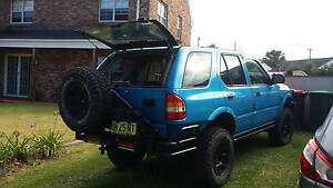2000 Holden Frontera Wagon Albion Park Shellharbour Area Preview