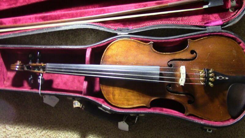 Violin Fiddle old Antique Vintage Used 4/4