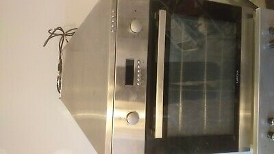 Used Electric cooker 2× 1× hood