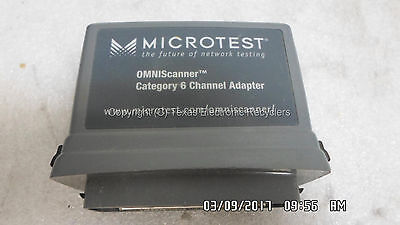 Microtest 2950-4012-02 Omniscanner Category 6 Channel Adapter