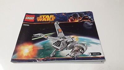 LEGO STARWAR !! INSTRUCTIONS ONLY !! FOR 75050 B-WING