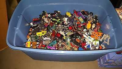LOT 10 random Die Cast Cars- MATCHBOX, Hot Wheels, Disney, Tonka, Rare? Grab Bag