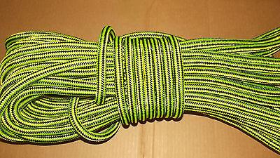 "5/8"" x 100' Double Braid Rope, Arborist Bull Rope, Rigging Line, Hoist Line, NEW"