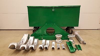 Greenlee 883 Pipe Bender 12 To 3 Inch Ips Good Shape