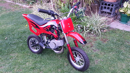 49cc MX. Pocket Rocket Bike.