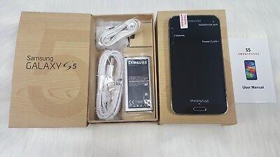 Inbox New Samsung Galaxy S5 SM-G900A - 16GB Charcoal Black - AT&T - GSM Unlocked