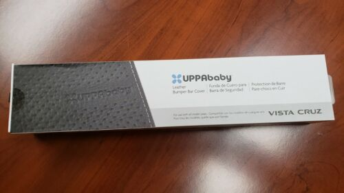 UPPAbaby Leather Bumper Bar Cover - Black BRAND NEW! 0917-LPB-WW-BLK