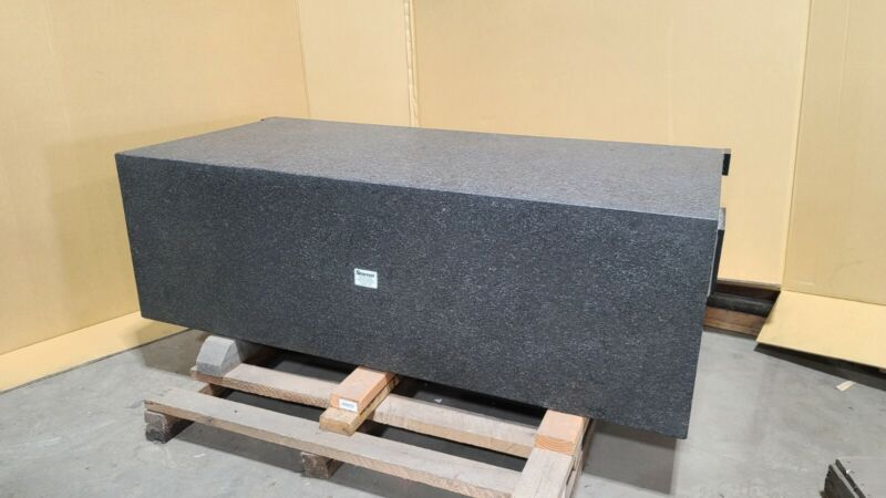"""Starrett Black Granite Surface Plate - 60"""" x 30"""" x 20"""" (can ship by Freight)"""