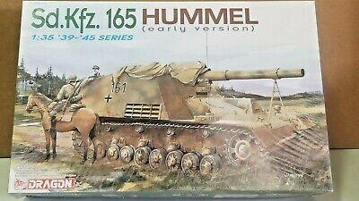 Dragon 6204 1:35 39-45 Series Sd.Kfz. 165 Hummel Early Ver. WW2 Model Kit