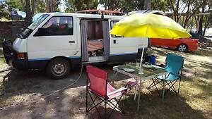 Nissan vanette van campervan backpackers Brisbane City Brisbane North West Preview