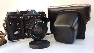 Винтажные ZENIT TTL SLR Camera 1980