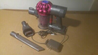Dyson V6 Motorhead Handheld Vacuum - Pink with 2 Attachments & Charger