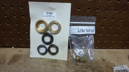 Hotsy parts 877685, 875555, 640100, Seal Packing Kit, Seat Relief valve & cartri