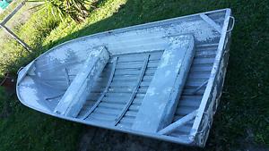 Quintex 3.7m 12ft 8hp Mercury Tinnie Tinny Boat Car Topper Capalaba West Brisbane South East Preview