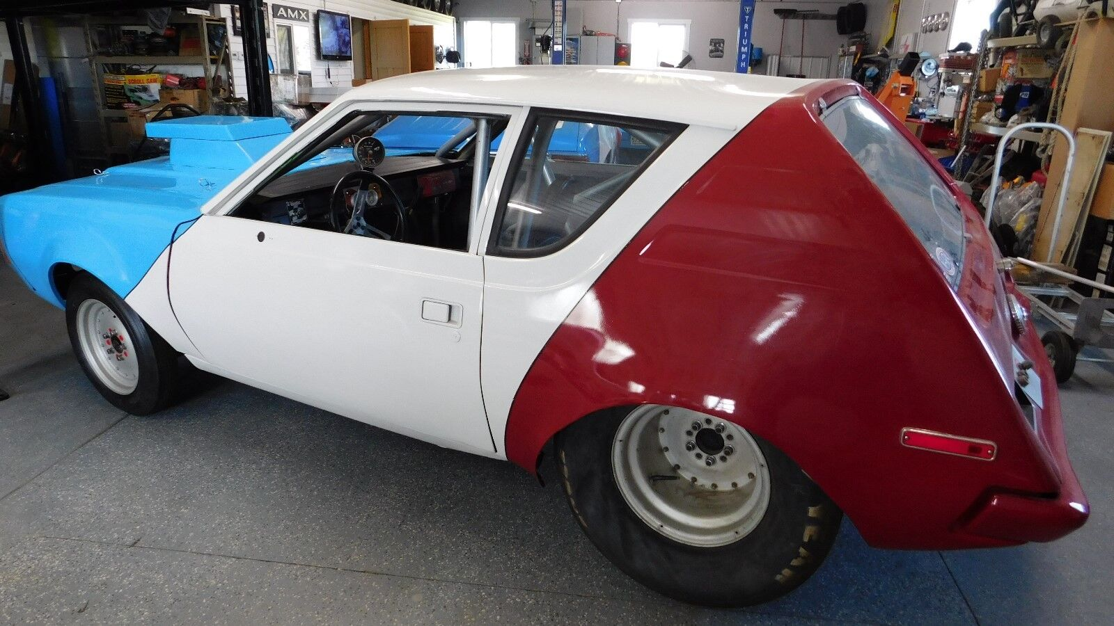 1974 AMC Gremlin  1974 AMC AMERICAN MOTORS GREMLIN DRAG CAR - ROLLER - SET UP FOR SBC/TURBO 350