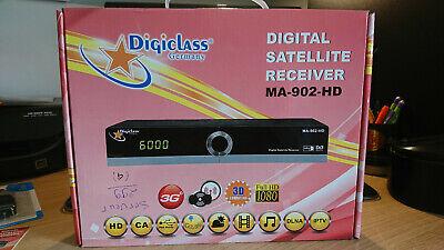 Digiclass MA-902-HD Récepteur numérique satellite et IPTV