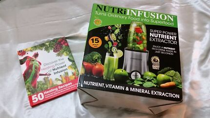 NUTRI INFUSION 700 WATTS with RECIPE BOOK  Merrylands Parramatta Area Preview