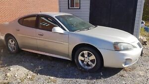 2008 Pontiac Grand Prix sold as is, no current inspection