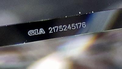 1.04 ct Cordova 14K White Gold Radiant Cut Diamond Solitaire Engagement Ring GIA 7
