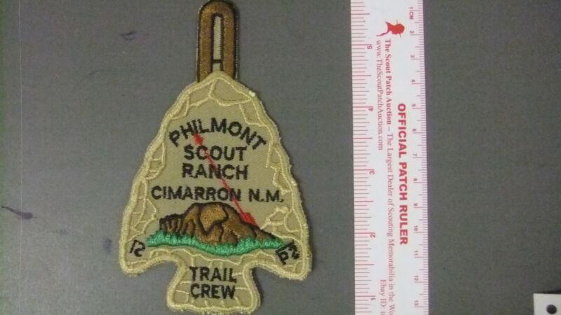 Boy Scout Philmont OA Trail Crew Arrowhead 5074HH