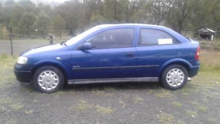 Holden Astra 2002 Equipe Auto 3dr hatchback
