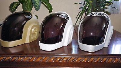 Daft Punk Helmet replica Guy-Manuel FREE SHIPPING ASSEMBLED (METALLIC GOLD) for sale  Los Angeles