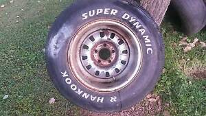 1 only 15 inch Ford 12 slotter Mag Wheel and 275/60 15 tyre. Karalee Ipswich City Preview