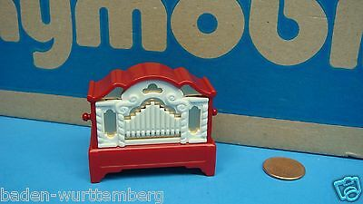 Playmobil 4889 christmas series red organ with music diorama toy geobra 111
