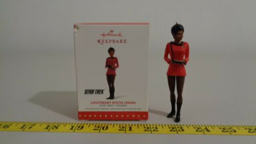 Star Trek Classic Legends Hallmark Lt. Nyota Uhura ornament 2015