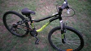 Fluid mountin bike