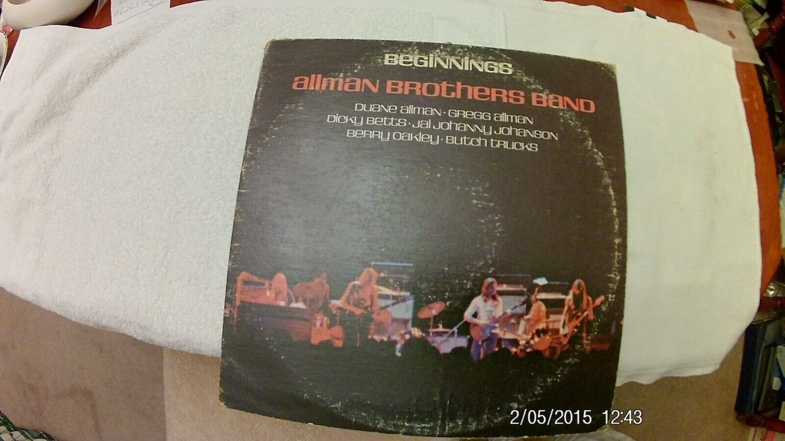 THE ALLMAN BROTHERS BAND Debut LP BEGINNINGS  - $7.50