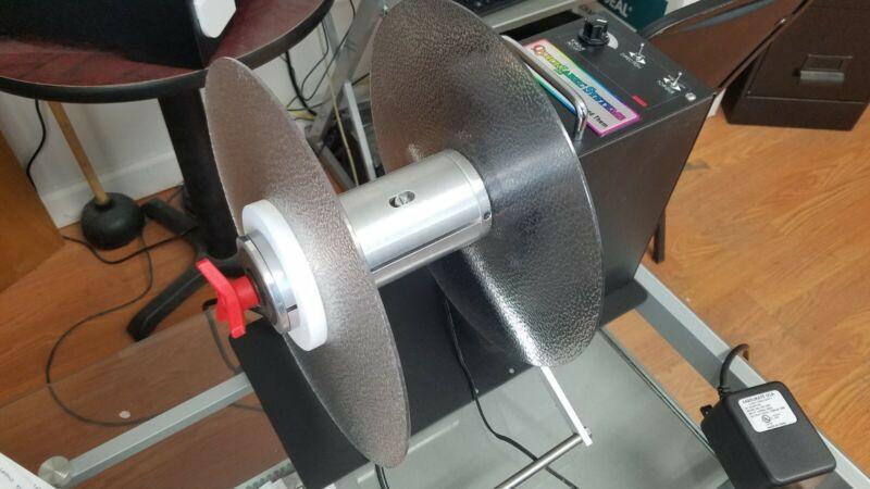 Quick Label Systems RW-6 Adjustable Torque Heavy-Duty Label Rewinder