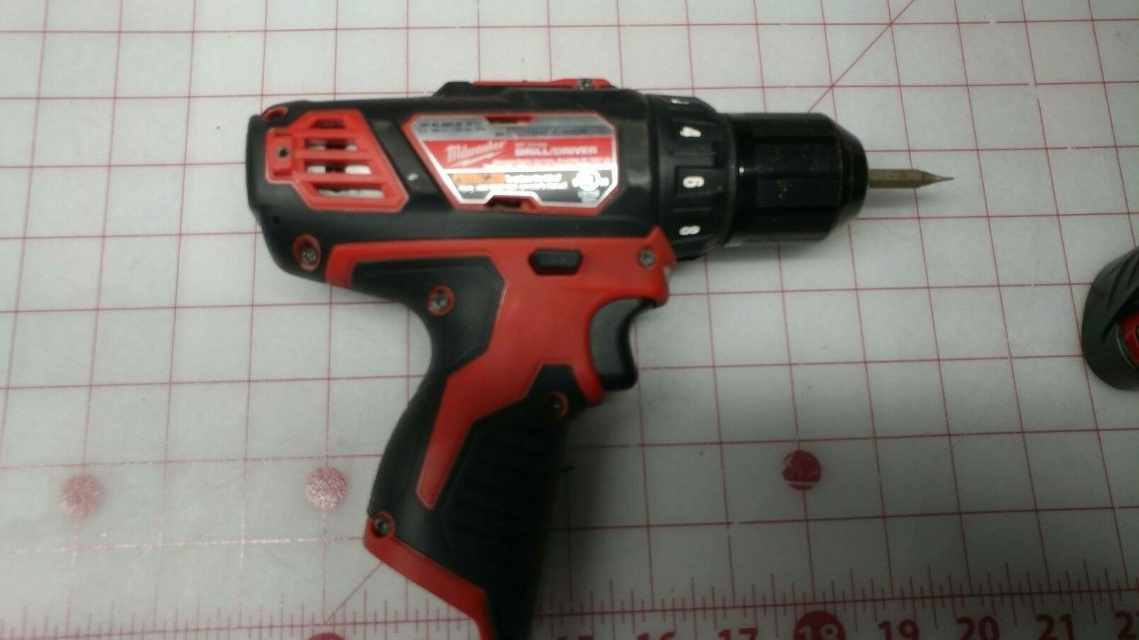 Milwaukee M12 12V 3/8-Inch Drill Driver 2407-20 Tool Only  - $27.00