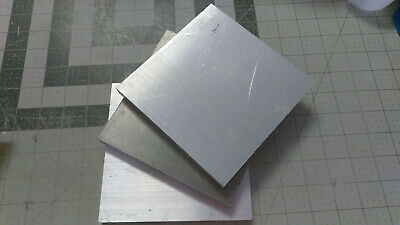 Lot 3 Block 5-34 X 5-34 X 12 Aluminum Scrap Metal Clip Machine Shop Leftovers