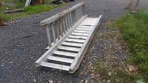 Alloy ramps 6tone rated very little use bobcat caterpillar case Tinana South Fraser Coast Preview