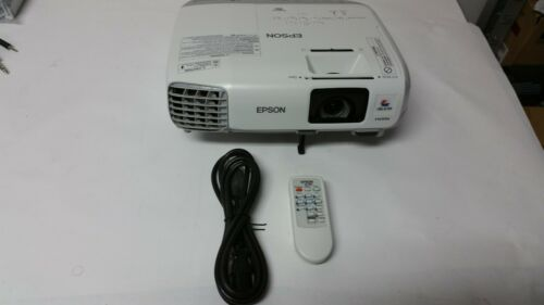Epson PowerLite 98H H687A 3LCD HDMI Projector Refurbished
