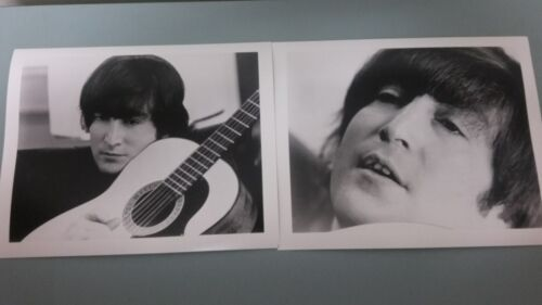 20 JOHN LENNON PHOTOS   2 photos 10 of each   8 by 10 black & white