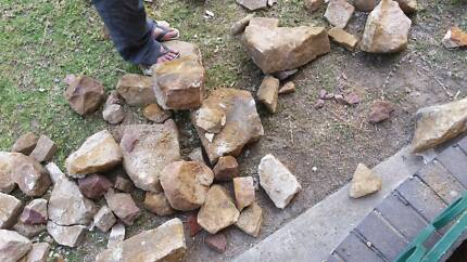 Free sandstone rocks Earlwood Canterbury Area Preview