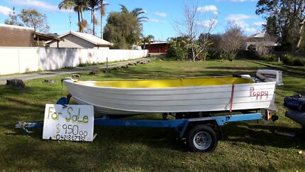 12 ft savage tinnie 15hp Johnson  Kilaben Bay Lake Macquarie Area Preview