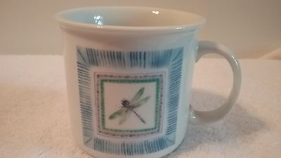 Discovery Channel Store Dragonfly Pattern Large Coffee Mug Ceramic Multi Color ](Dragonfly Store)