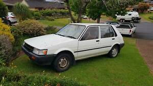 1987 Toyota Corolla S Manual Hatchback Kingswood Penrith Area Preview