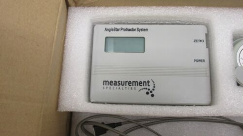 Anglestar Protractor System (02160021-000) ±45° Degrees NIB INV