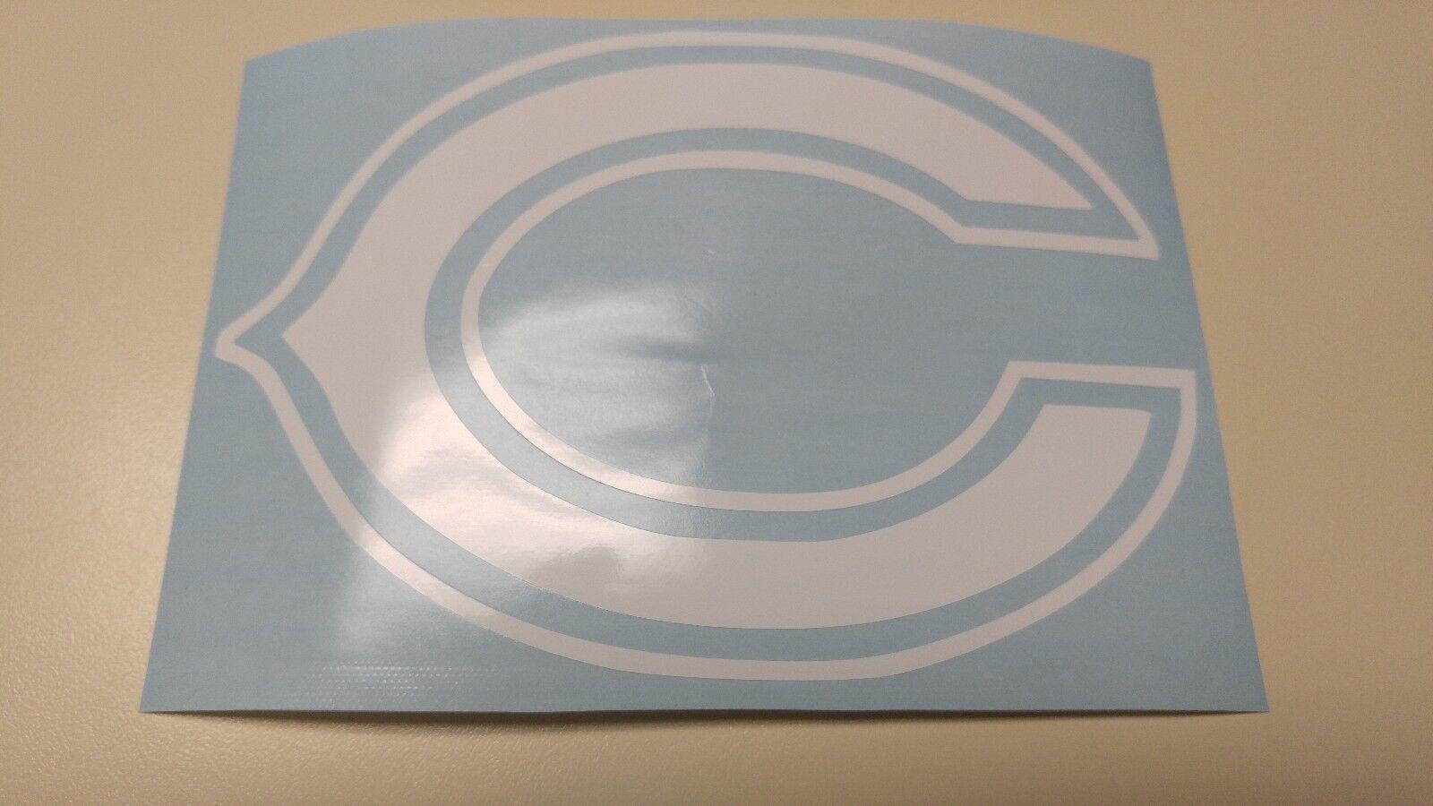 Window Toolbox Sticker #405 NFL Chicago Bears Stickers