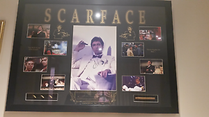 pictures frames x2 peter brook scarface with certificate