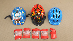 Helmets for biked, scooter, skating, rollerblading
