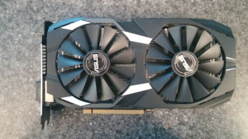ASUS AMD Radeon RX 580 4GB GDDR5 Graphics Card (DUAL-RX580-O4G)