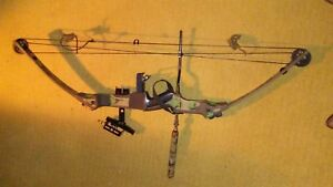 "Hoyt Heat 60 pounds 28"" draw Compound Bow"