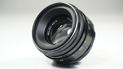 US Seller Helios 44-2 GREAT 58mm f2 Russian Portrait Lens DSLR EF USSR EXC M42
