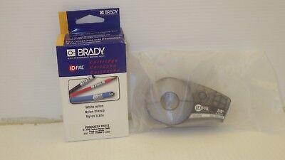 Brady Pal-375-499 Cartridge Idpal White Nylon Cloth Blk On White 38 X 19 Nib